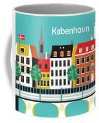 Copenhagen Kobenhavn Denmark Horizontal Scene Coffee Mug