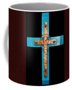 Copper And Stone Cross Coffee Mug