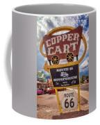 Copper Cart Coffee Mug