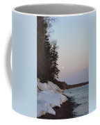 Copper Country Moonset Portrait Coffee Mug