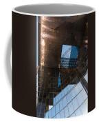 Copper Glass And Steel Geometry - Fabulous Modern Architecture In London U K Coffee Mug