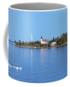 Copper Harbor Lighthouse Coffee Mug