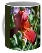 Copper Iris Squared 1 Coffee Mug
