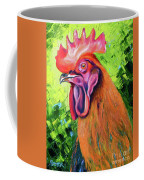 Copper Maran French Rooster Coffee Mug