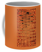 Copper Plates Double Abstract Coffee Mug