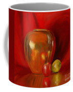 Copper Pot And Fruit Coffee Mug