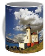 Coquile Light, Oregon Coffee Mug