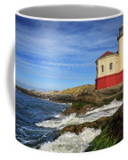 Coquille River Lighthouse At Bandon Coffee Mug