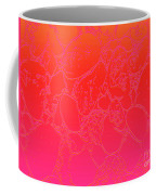 Coral Crackle Coffee Mug
