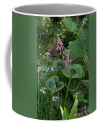 Coral Flower Path Coffee Mug