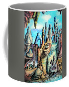 Coral Island, Stone City Of Alien Civilization Coffee Mug