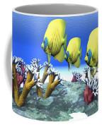 Coral Moods Coffee Mug by Corey Ford