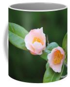 Coral Camellia 2 Coffee Mug