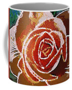 Coral Rose In The Mix Coffee Mug