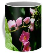 Coral Vine Flower Coffee Mug