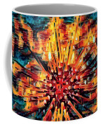 Corals Under The Sea Abstract Color Art Coffee Mug