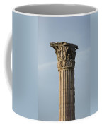 Corinthian Columns At The Roman Forum Coffee Mug