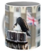Cormorant Adult Phalacrocorax Carbo Coffee Mug
