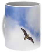 Cormorant Drifting At The Sunset Coffee Mug