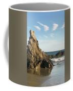 Cormorants At El Madador Beach Coffee Mug
