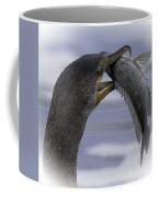 Cormorant's Whopper Dive Catch Coffee Mug