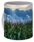 Corn And Clouds Panorama Coffee Mug