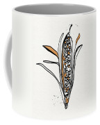 corn- contemporary art by Linda Woods Coffee Mug