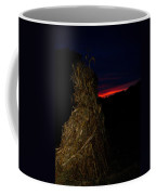 Corn Shock At Setting Sun Coffee Mug
