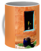 Corner In Santa Fe Nm Coffee Mug