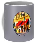 Corner Of Center And Merchant Rutland Vt Coffee Mug