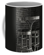 Corner Table - Black And White Coffee Mug