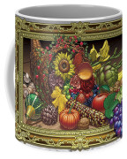 Cornucopia Overflowing Coffee Mug