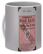 Corona Road Race 1914 Coffee Mug