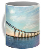 Coronado Bridge Sunset A Coffee Mug