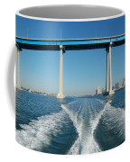 Coronado Bridge Wake Coffee Mug