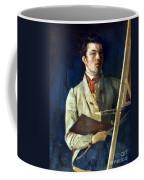 Corot With Easel, 1825 Coffee Mug