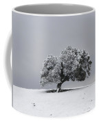 Corral Hollow Tree In Snow Coffee Mug