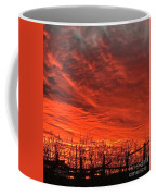 Corral Sunset Coffee Mug