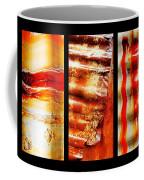 Corrugated Iron Triptych #4 Coffee Mug
