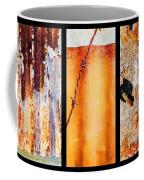 Corrugated Iron Triptych #8 Coffee Mug