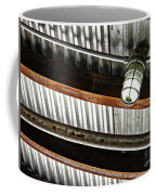 Corrugated Metal Abstract 10 Coffee Mug