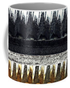 Corrugated Metal Abstract 9 Coffee Mug