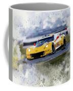 Corvette Racing Coffee Mug