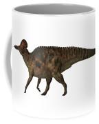 Corythosaurus On White Coffee Mug