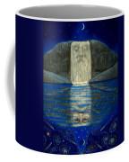 Cosmic Wizard Reflection Coffee Mug