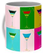 Cosmopolitan Pop Art Panels Coffee Mug