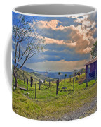 Costa Rica Cow Farm Coffee Mug