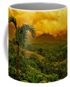 Costa Rica Volcano Coffee Mug