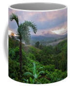 Costa Rica Volcano View Coffee Mug