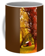 Cosy Shed Coffee Mug by Svetlana Sewell